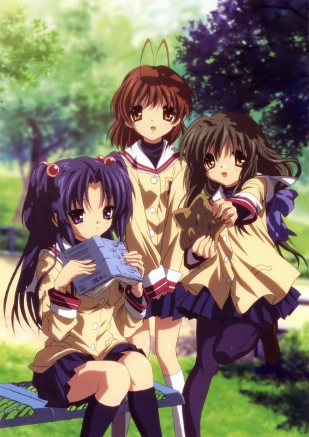 My three favourite Clannad girls in one pic!