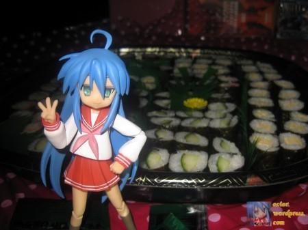 Sushi = Happy!
