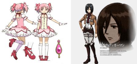 Madoka vs Mikasa